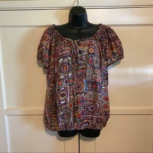 Pure Energy Fiesta Blouse Size 2X